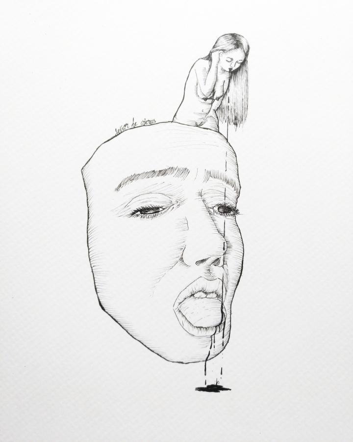 "Ilustración: ""Poison"" de Luciano Guerrero"